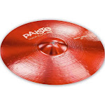 "Paiste 19"" Color Sound 900 Red Heavy Crash Cymbal"