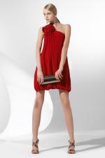 BCBG One Shoulder Embellished Dress