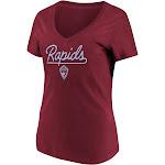 MLS Women's Short Sleeve V-Neck T-Shirt Colorado Rapids