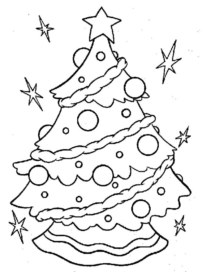 Free Printable Coloring Sheets For Kids Christmas - Drawing With Crayons