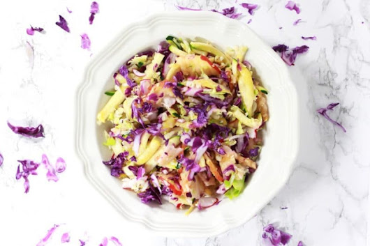 Healthy Coleslaw Recipe - Recipes Worth Repeating