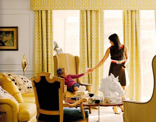 Kimberly Ayres Yellow Room