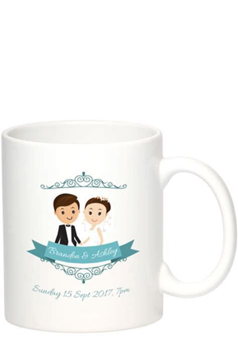 Personalized Wedding Favors in Bulk   DiscountMugs