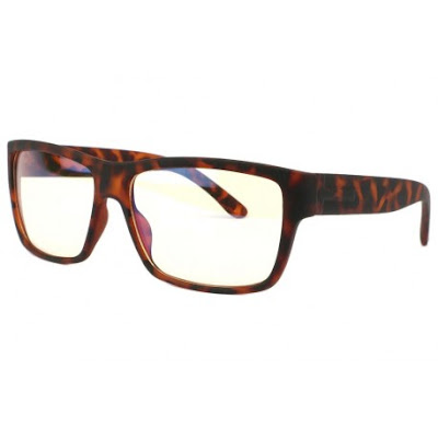 Lunette ecran marron ecaille Nash