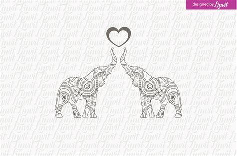 Indian Wedding Logo, Elephant Logo ~ Logo Templates