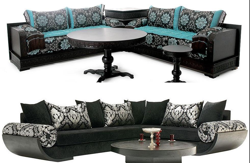 Table et chaises de terrasse: Fauteuil marocain moderne