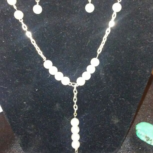 Handmade sterling silver freshwater p($ 20) - Mercari: Anyone can buy & sell