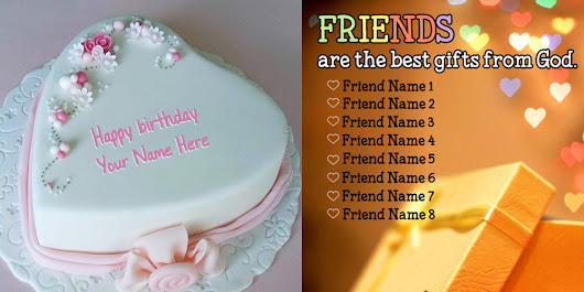 Write Your Name on Cakes and Jewelry Online