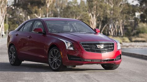 2016 Cadillac ATS Sedan Black Chrome Package (Color: Red