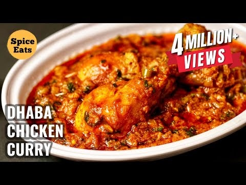 Dhaba Chicken Curry Recipe