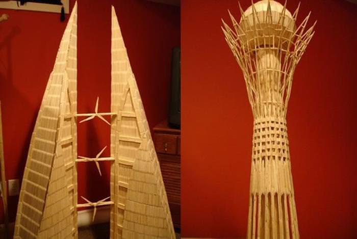 Toothpick Art