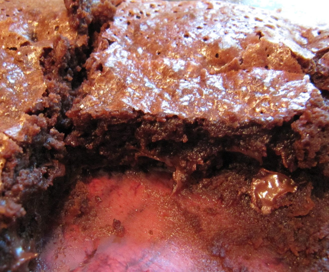 Quick & Easy Chocolate Fudge Brownies - Ruby Lynn's Kitchen