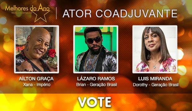 Melhores do Ano 2014 - vote no Ator Coadjuvante (Foto: Jorge Lima / Gshow)