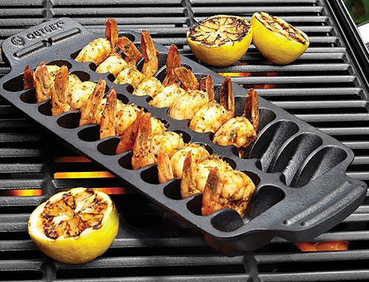 Shrimp Cast Iron Grill and Serving Pan » COOL SH*T i BUY