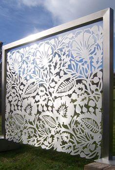 Outdoor Wall Art on Pinterest