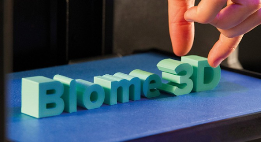 Biome3D: the new ultra eco-friendly 3D printing material from Biome Bioplastics | Top 4 3D Printing