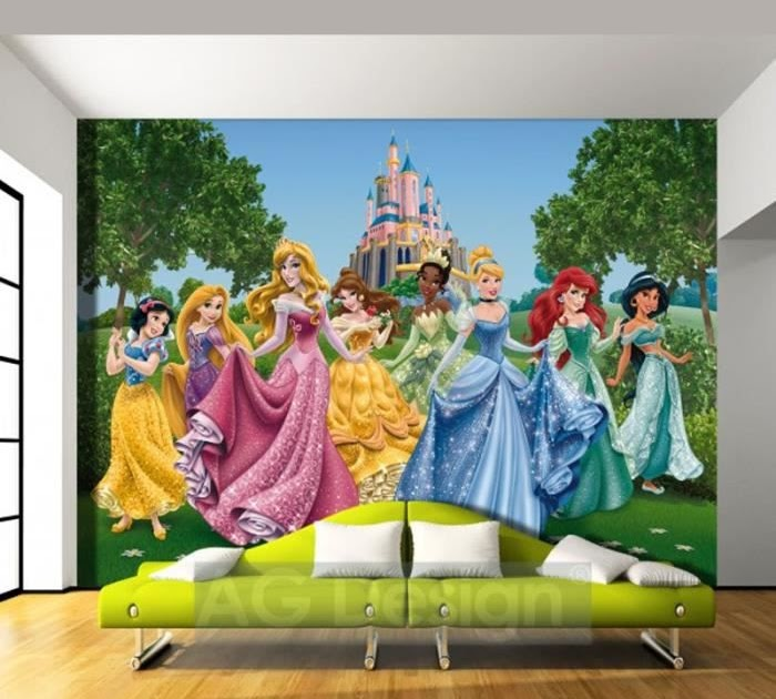 papierpeint9 papier peint princesse disney. Black Bedroom Furniture Sets. Home Design Ideas