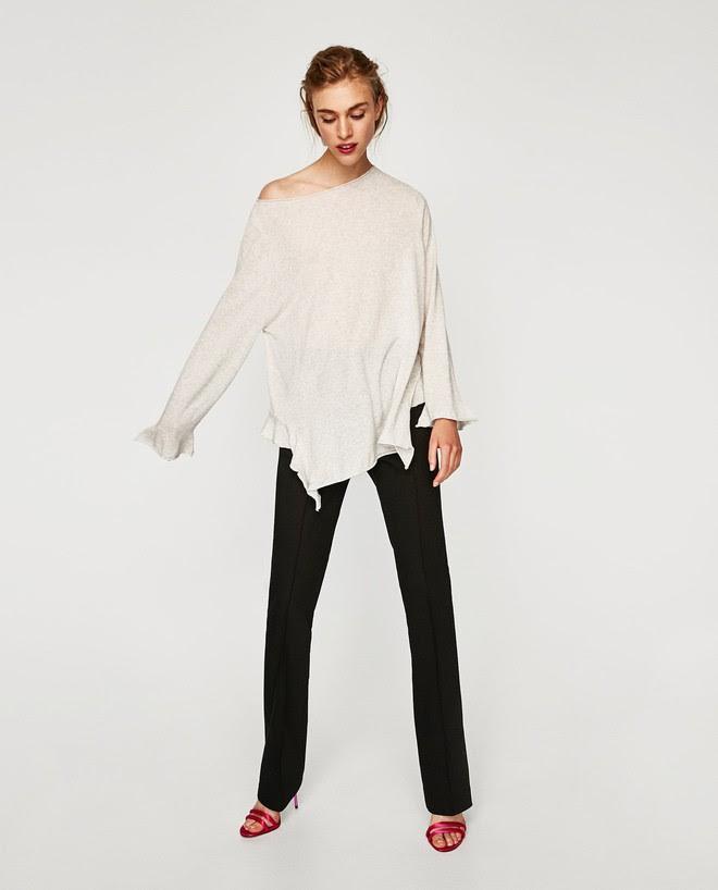 Zara sale 50% và đây là những mẫu áo len, áo nỉ mà các nàng phải vợt ngay kẻo hết size - Ảnh 1.