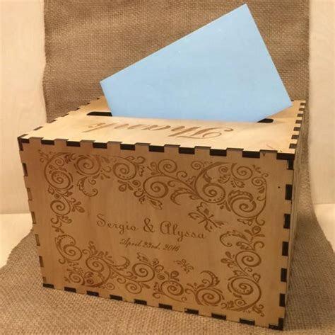 Wedding Card Box, Custom Card Box, Rustic Wood Card Holder