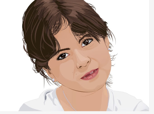 I will do your portrait in vector