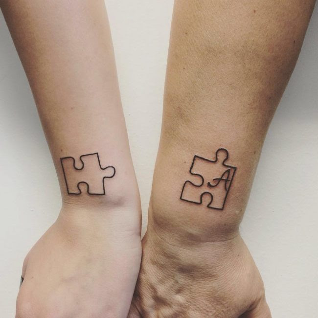 60 Eloquent Sibling Tattoo Ideas- Show Your Special Connection