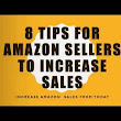Amazon Sales Marketing Helpful Tips for Every Seller. - YouTube