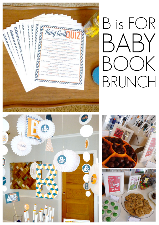 B is for baby shower - C.R.A.F.T.