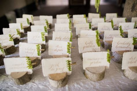 Escort Card & Board Examples   Kahns Catering