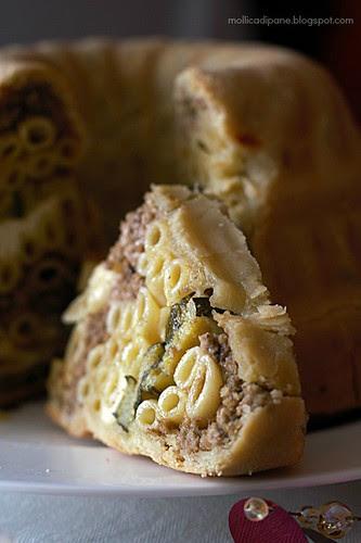 Timballo di pasta in crosta