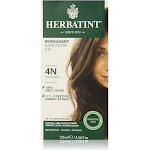 Herbatint Haircolor Gel, Permanent, Chestnut 4N - 135 ml