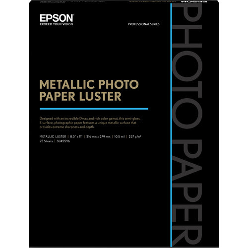 Epson Metallic Glossy & Luster Photo Papers