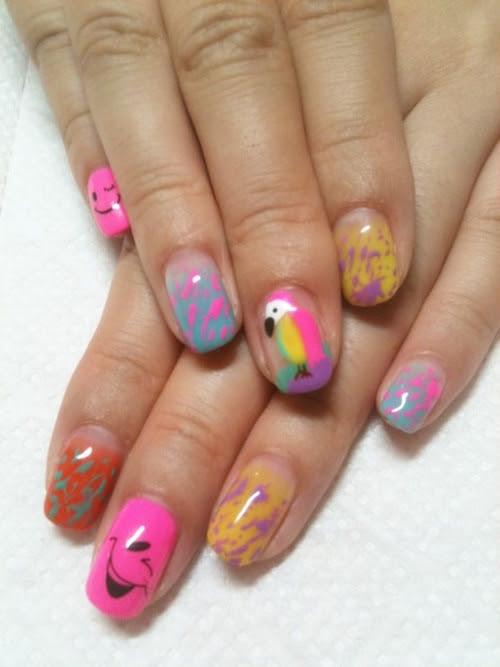 Super-Fun Nail Art Ideas 2012|