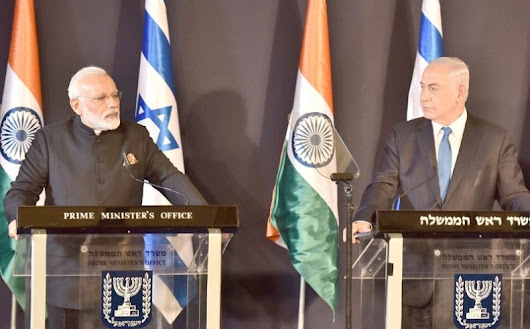 PM's Press Statement during his visit to Israel