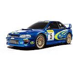 Tamiya 58631 - RC Subaru Impreza TT-02 Monte-Carlo 99 4WD Shaf