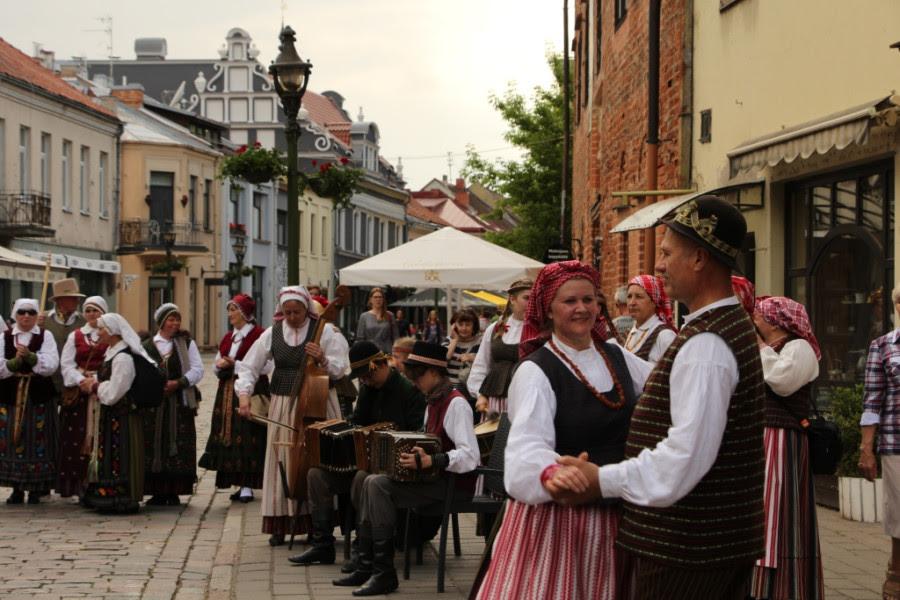 Фольклорный фестиваль Atataria в Каунасе (1)
