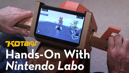 We Tried Nintendo Labo And Mostly Like It A Lot