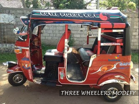 Roshan Modify Car Audio Modification Welisara Three Wheel