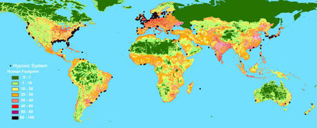 Hypoxis Systeme, World map