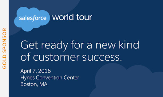 Come by and meet us in booth 145 at the Salesforce World Tour Boston! | Tacton