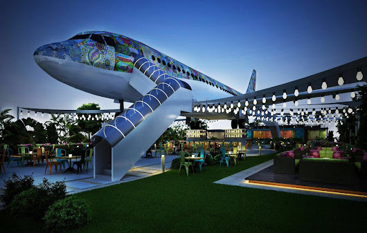 'Hawai Adda' airplane restaurant - Buzzing place to checkout in Ludhiana