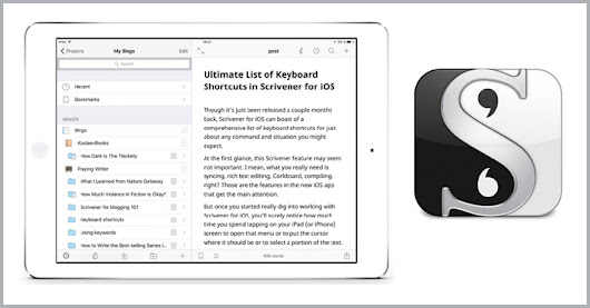 Why I Love Scrivener for iOS | Review | BookBaby Blog