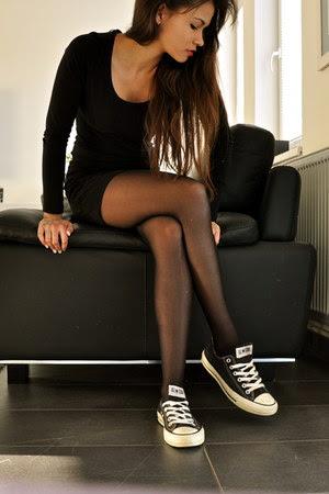 Black bodycon dress with tights sizes black plus