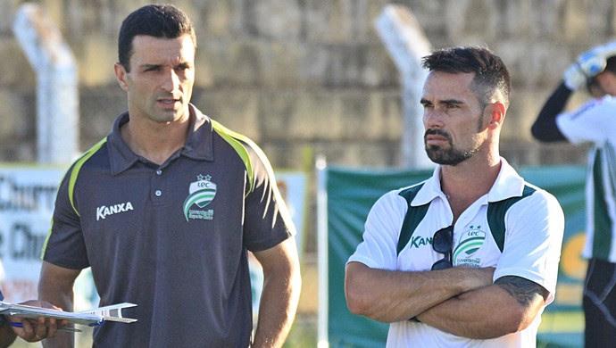 Júnior Rocha, Maico Gaúcho, Luverdense (Foto: Assessoria/Luverdense Esporte Clube)