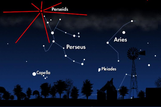 Look Up to See the Perseids Light Up the Night Skies