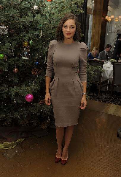 "Marion Cotillard Actress Marion Cotillard attends a luncheon for The Weinstein Company's ""NINE"" at Per Se on December 14, 2009 in New York, New York."