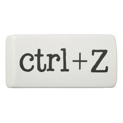 Ctrl+Z Delete Eraser
