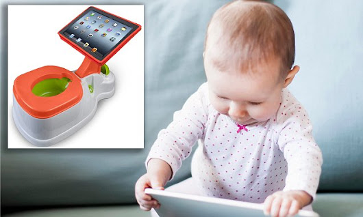 Worrying rise of the iPad childminder