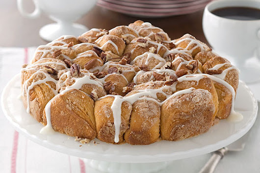 Tuesday Treats: Pull-apart Coffee Cake