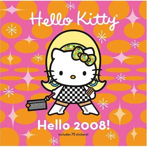 hello kitty 2008 calendar cover