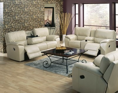 Big Floor Flower Vase Idea Soft Brown Leather Couch Living Room ...